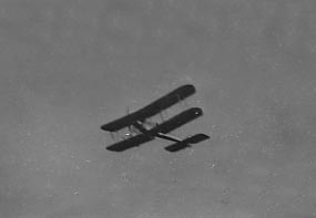 BE2 in flight 1915