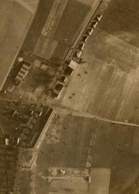 Nivelles airfield from the air